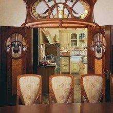 Фотография: Кухня и столовая в стиле Классический, Эклектика, Дом, Дизайн интерьера, Ар-нуво – фото на InMyRoom.ru