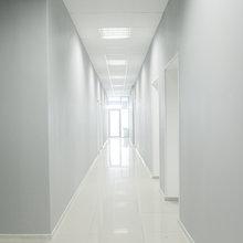 Фото из портфолио Ремонт офиса в светлых тонах – фотографии дизайна интерьеров на INMYROOM