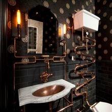 Фотография: Ванная в стиле Лофт, Декор интерьера, Квартира, Дом, Декор – фото на InMyRoom.ru