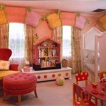 Фотография: Детская в стиле Кантри, Декор интерьера, Декор дома, Шторы, Окна – фото на InMyRoom.ru