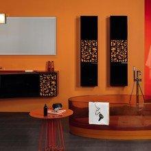 Фотография: Ванная в стиле Современный, Декор интерьера, Дизайн интерьера, Цвет в интерьере, Dulux, Оранжевый, ColourFutures – фото на InMyRoom.ru