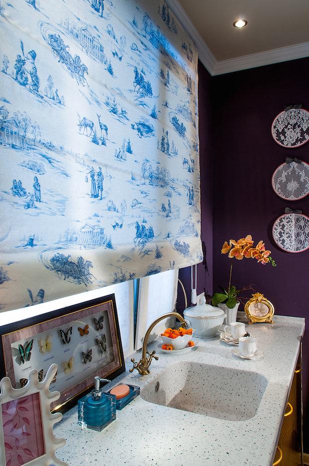 Фотография: Кухня и столовая в стиле Прованс и Кантри, Гостиная, Дом, Дома и квартиры – фото на InMyRoom.ru