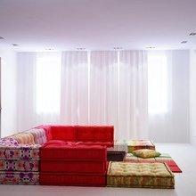 Фотография: Гостиная в стиле Современный, Эклектика, Квартира, Дома и квартиры, Минимализм – фото на InMyRoom.ru