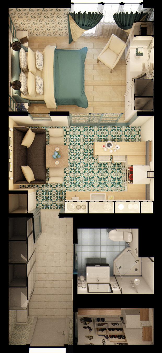 Фотография: Прочее в стиле , Квартира, Gramercy Home, Дома и квартиры, IKEA, Проект недели – фото на InMyRoom.ru