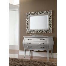 Зеркало  серебро (90*120)
