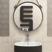 Фотография: Ванная в стиле Лофт, Малогабаритная квартира, Квартира, Дома и квартиры, Надя Зотова – фото на InMyRoom.ru