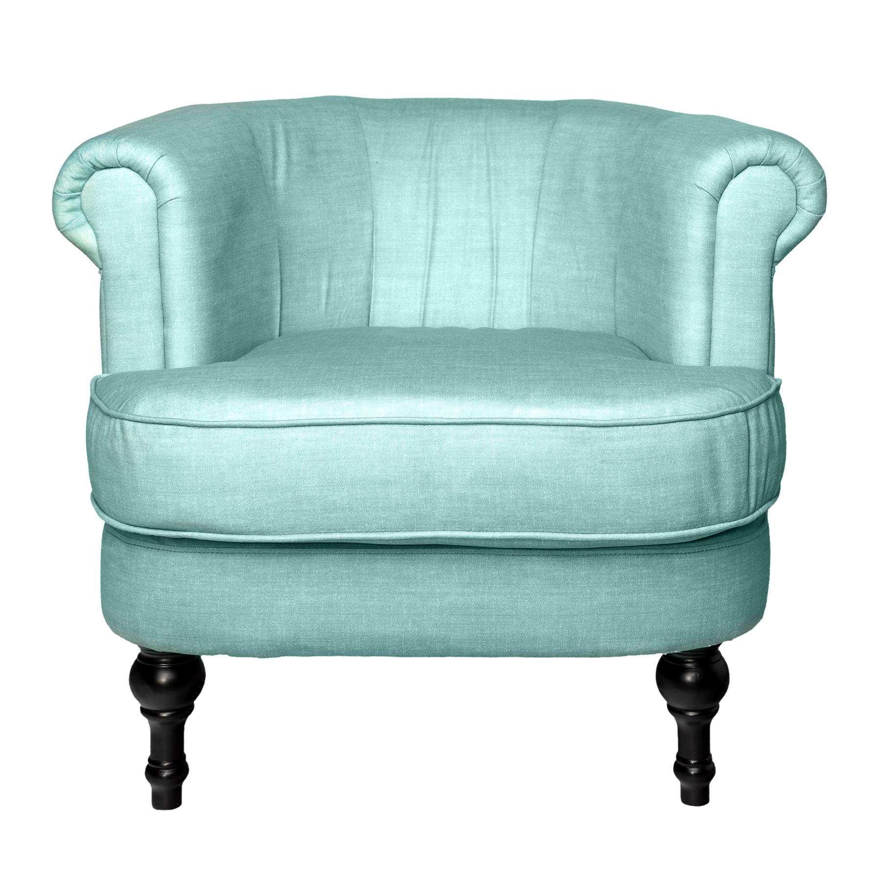 Кресло Charlotte Bronte светло-голубое