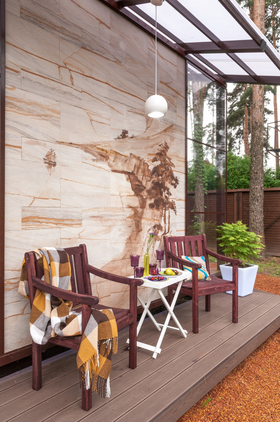 Фотография: Балкон, Терраса в стиле Прованс и Кантри, Восточный, Дом, Дома и квартиры – фото на InMyRoom.ru