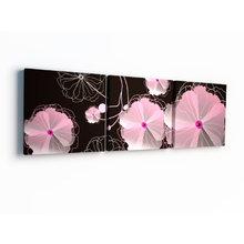 Декоративная картина: Ночные цветы