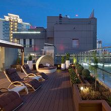 Фотография: Балкон, Терраса в стиле , Классический, Квартира, Дома и квартиры, Пентхаус – фото на InMyRoom.ru
