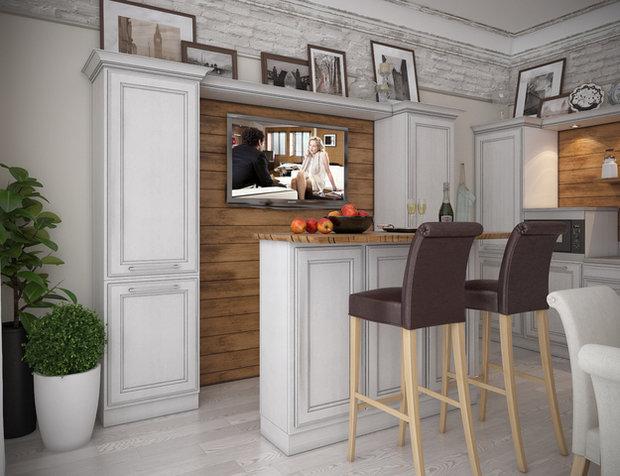 Фотография: Кухня и столовая в стиле Прованс и Кантри, Классический, Дом, Дома и квартиры, Прованс, Проект недели – фото на InMyRoom.ru
