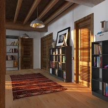 Фото из портфолио Закат в Нью-Йорке – фотографии дизайна интерьеров на INMYROOM