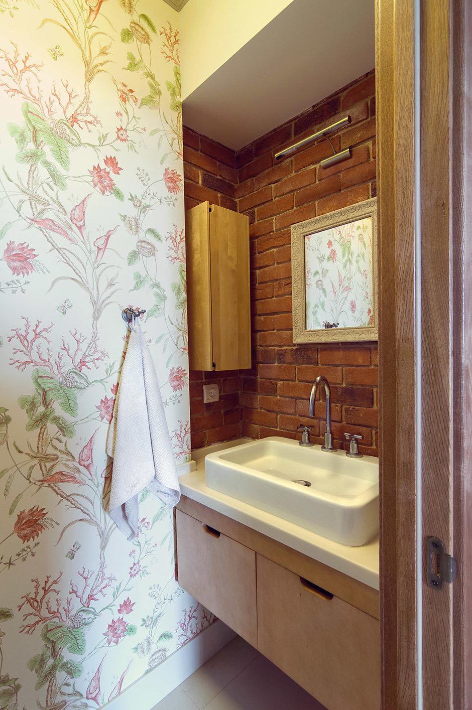 Фотография: Ванная в стиле Прованс и Кантри, Лофт, Квартира, Дома и квартиры – фото на InMyRoom.ru