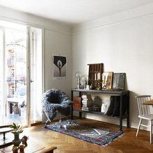 Фотография: Гостиная в стиле Скандинавский, Декор интерьера, Малогабаритная квартира, Квартира, Мебель и свет – фото на InMyRoom.ru