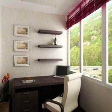 Фотография: Балкон, Терраса в стиле Кантри, Кабинет, Интерьер комнат – фото на InMyRoom.ru