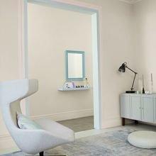 Фотография: Гостиная в стиле Лофт, Декор интерьера, Дизайн интерьера, Цвет в интерьере, Бежевый, Dulux – фото на InMyRoom.ru
