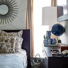 Фотография: Спальня в стиле Современный, Эклектика, Декор интерьера, Квартира, Дом, Цвет в интерьере, Дома и квартиры – фото на InMyRoom.ru