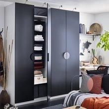 СУББ модуль для хранения с 6 отделениями, цвет: черный, 799.– (ИКЕА)