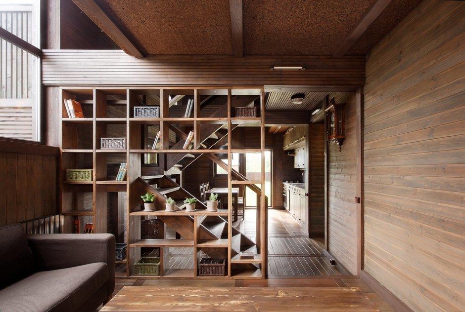 Фотография: Гостиная в стиле , Дом, Дома и квартиры, Проект недели, Дача – фото на InMyRoom.ru