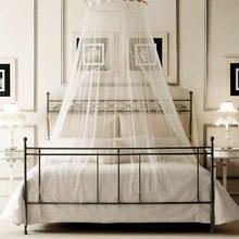 Фотография: Спальня в стиле Кантри, Декор интерьера, Мебель и свет, Балдахин – фото на InMyRoom.ru