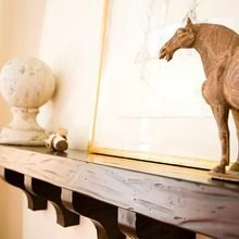 Фотография: Декор в стиле , Декор интерьера, Декор дома, Праздник, Камин, Биокамин – фото на InMyRoom.ru