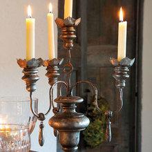 Фотография: Декор в стиле Кантри, Декор интерьера, DIY, Праздник, Новый Год, Стол – фото на InMyRoom.ru