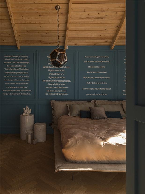 Фото из портфолио Брутальный загородный дом  – фотографии дизайна интерьеров на INMYROOM