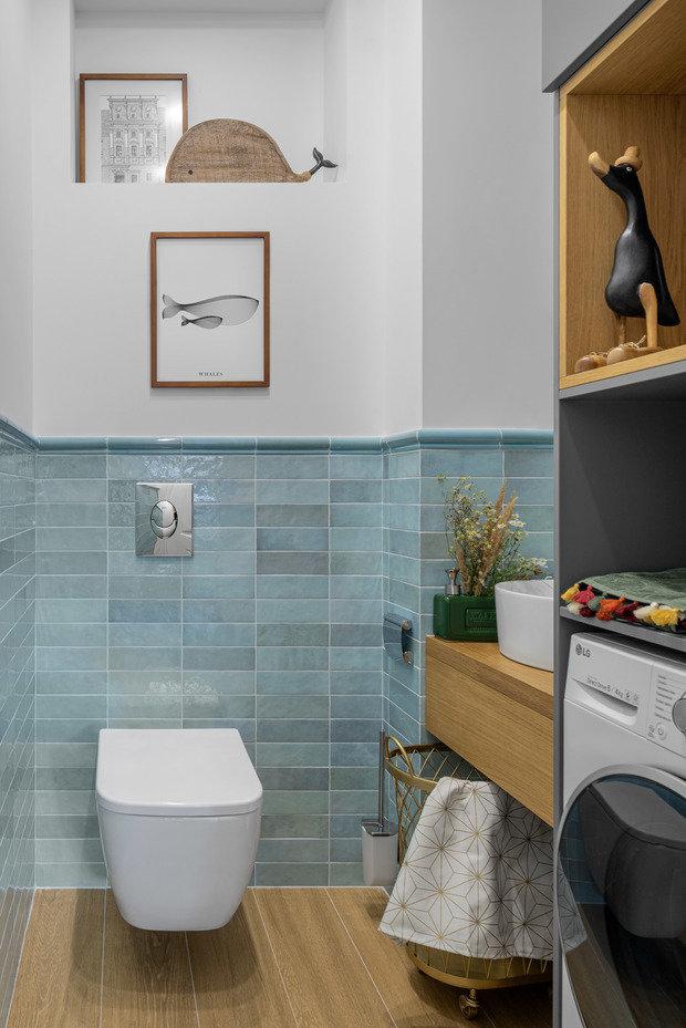 Фотография: Ванная в стиле Современный, Квартира, Проект недели, 3 комнаты, 60-90 метров, Екатерина Уланова – фото на INMYROOM