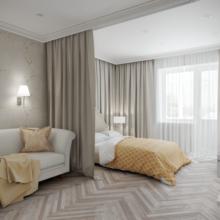 Фотография: Спальня в стиле Кантри, Эклектика, Современный, Квартира, Проект недели – фото на InMyRoom.ru