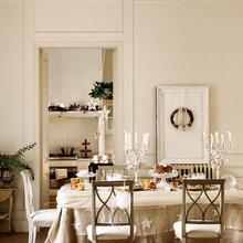 Фотография: Кухня и столовая в стиле Кантри, Классический, Декор интерьера, Дом, Аксессуары, Декор, Белый – фото на InMyRoom.ru