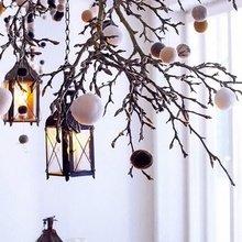 Фотография: Аксессуары в стиле Скандинавский, Декор интерьера, Праздник, Цвет в интерьере, Новый Год – фото на InMyRoom.ru