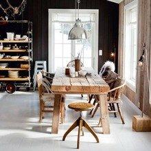 Фотография: Кухня и столовая в стиле Лофт, Эко, Интерьер комнат – фото на InMyRoom.ru