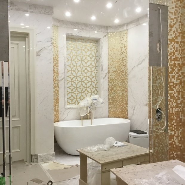 Сравниваем визуализацию и проект ванной комнаты