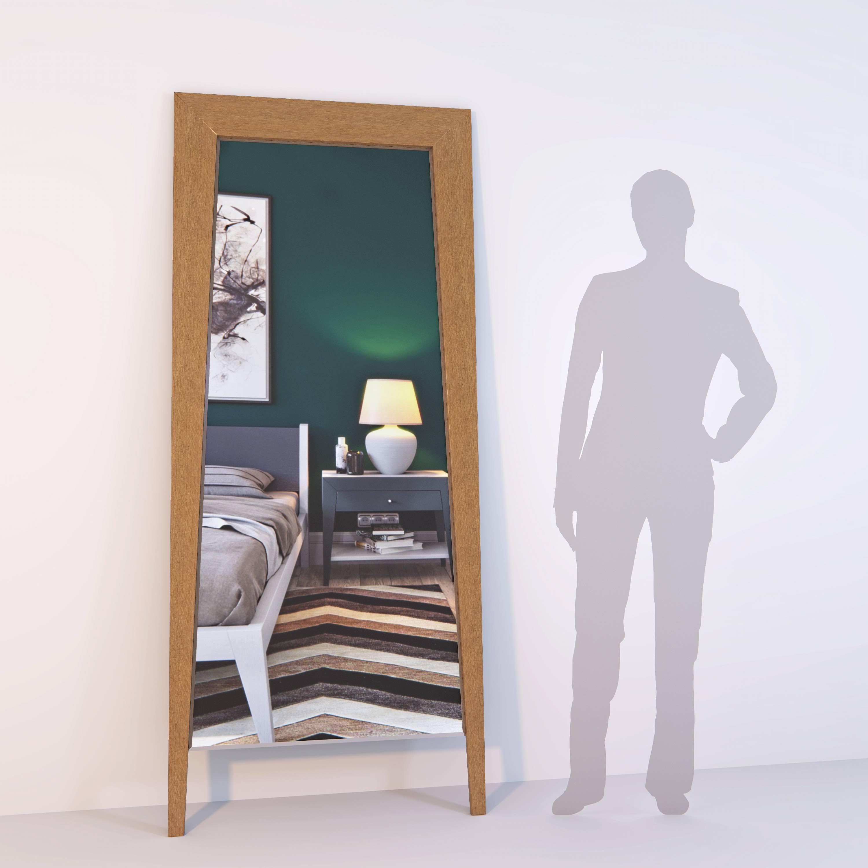 Зеркало напольное Ego из массива дуба