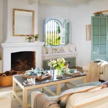 Фотография: Гостиная в стиле Кантри, Дом, Дома и квартиры, Средиземноморский – фото на InMyRoom.ru