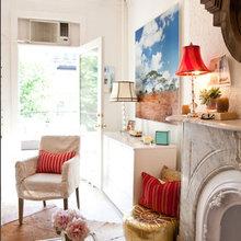 Фотография: Гостиная в стиле Кантри, Карта покупок, Индустрия, Лондон, Нью-Йорк, Париж, Airbnb – фото на InMyRoom.ru