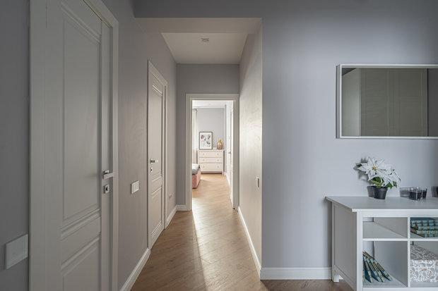 Фотография: Прихожая в стиле Современный, Квартира, Проект недели, Москва, 3 комнаты, 60-90 метров, Марьям Разуваева – фото на INMYROOM