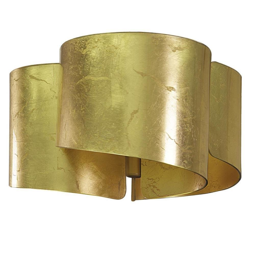 Потолочная люстра Simple Light золотого цвета