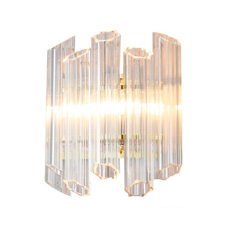 Купить Настенный светильник Vittoria Gold из прозрачного стекла, inmyroom, Китай