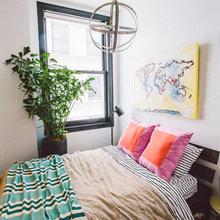 Фотография: Спальня в стиле Лофт, Минимализм, Квартира, Переделка – фото на InMyRoom.ru