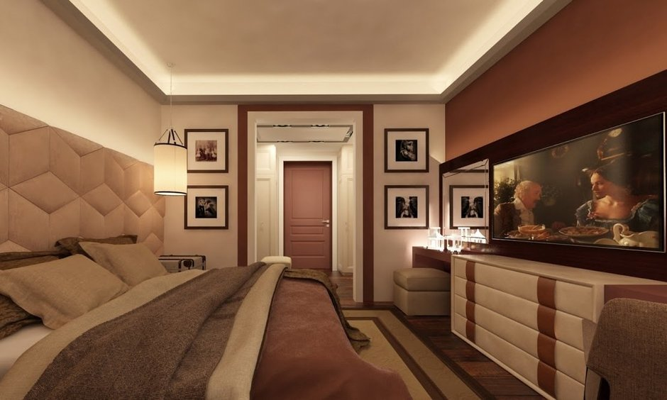 Фотография: Спальня в стиле Современный, Квартира, Дома и квартиры, Проект недели, Москва – фото на InMyRoom.ru