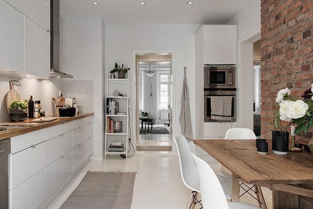 Фотография: Кухня и столовая в стиле Скандинавский, Декор интерьера, Мебель и свет, Советы, Дорого и бюджетно – фото на INMYROOM