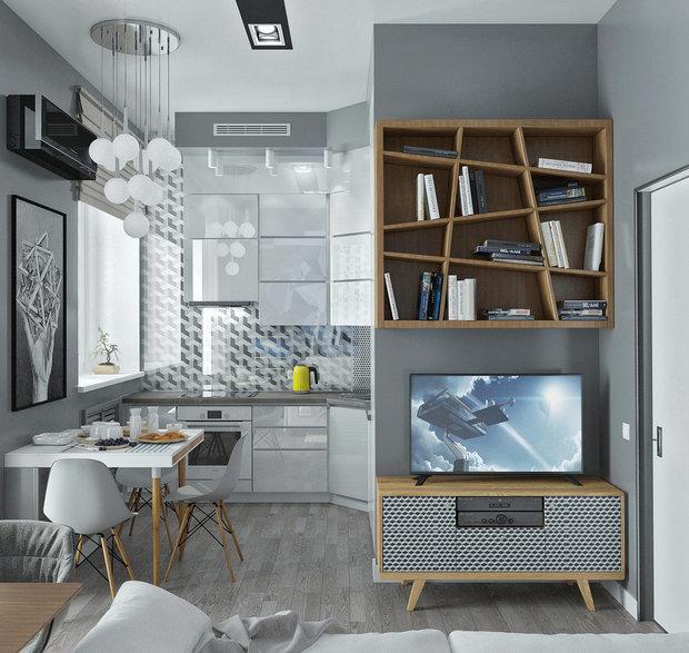 Дизайн: Yurov Interiors