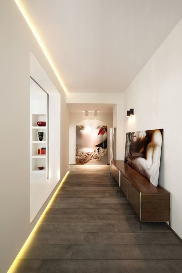 Фотография: Прихожая в стиле Современный, Минимализм, Декор интерьера, Декор, Мебель и свет, освещение – фото на InMyRoom.ru