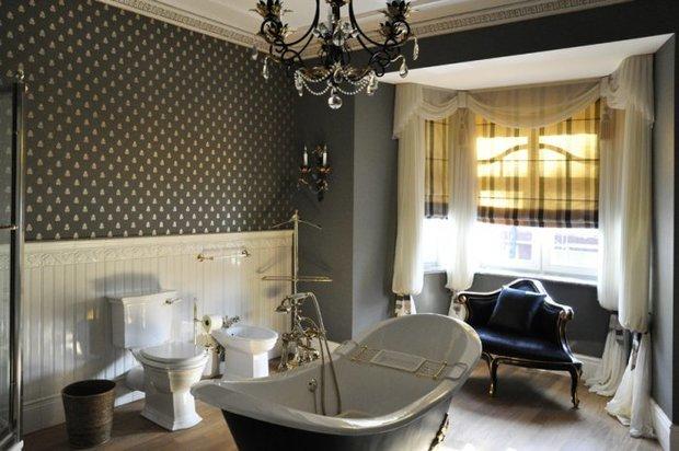 Фотография: Ванная в стиле Классический, Интерьер комнат, Текстиль – фото на InMyRoom.ru