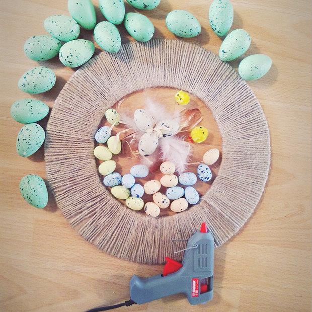 Фотография:  в стиле , DIY, декоративный венок – фото на InMyRoom.ru