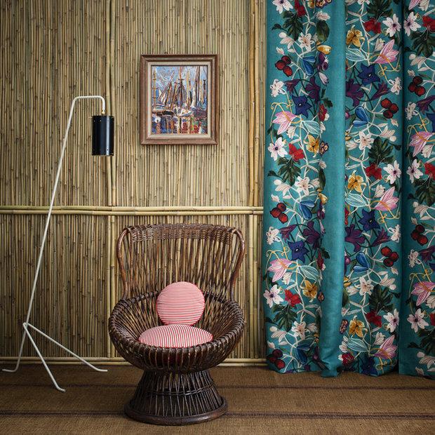 Фотография: Мебель и свет в стиле Эко, Цвет в интерьере, Стиль жизни, Советы, Ткани, Галерея Арбен, Шторы, Окна – фото на INMYROOM