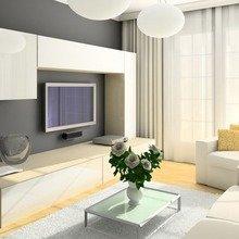 Фотография: Гостиная в стиле Современный, Декор интерьера, Мебель и свет, Советы – фото на InMyRoom.ru