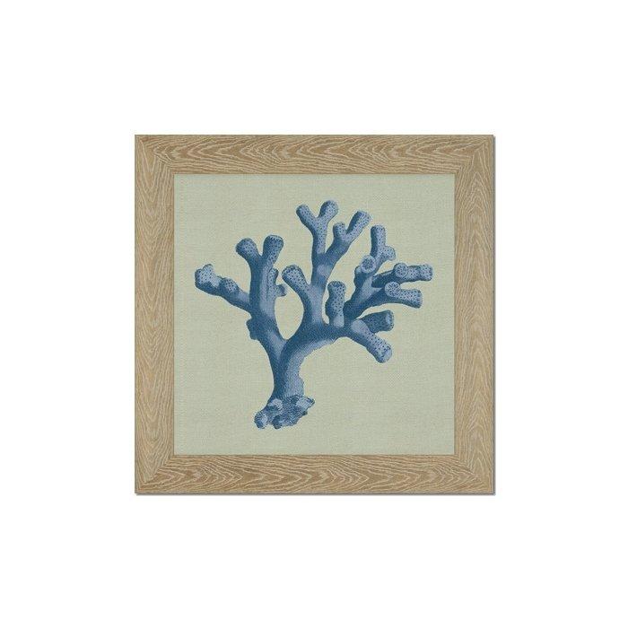 Кораллы голубые