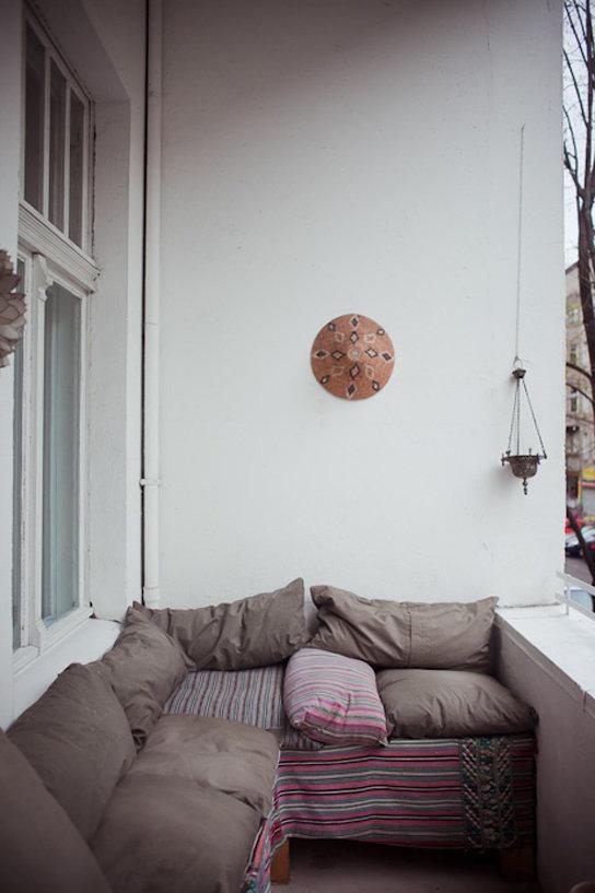 Фотография: Балкон, Терраса в стиле Прованс и Кантри, Современный, Интерьер комнат, специальная тема: балконы – фото на InMyRoom.ru